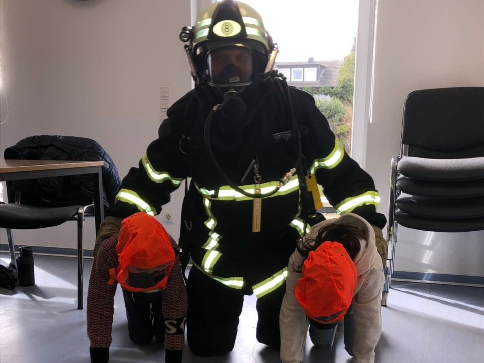 Brandschutzerziehung erfolgreich durchgeführt