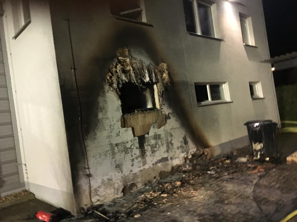 Letzter Einsatz: Brandeinsatz am eigenen Gerätehaus (110)